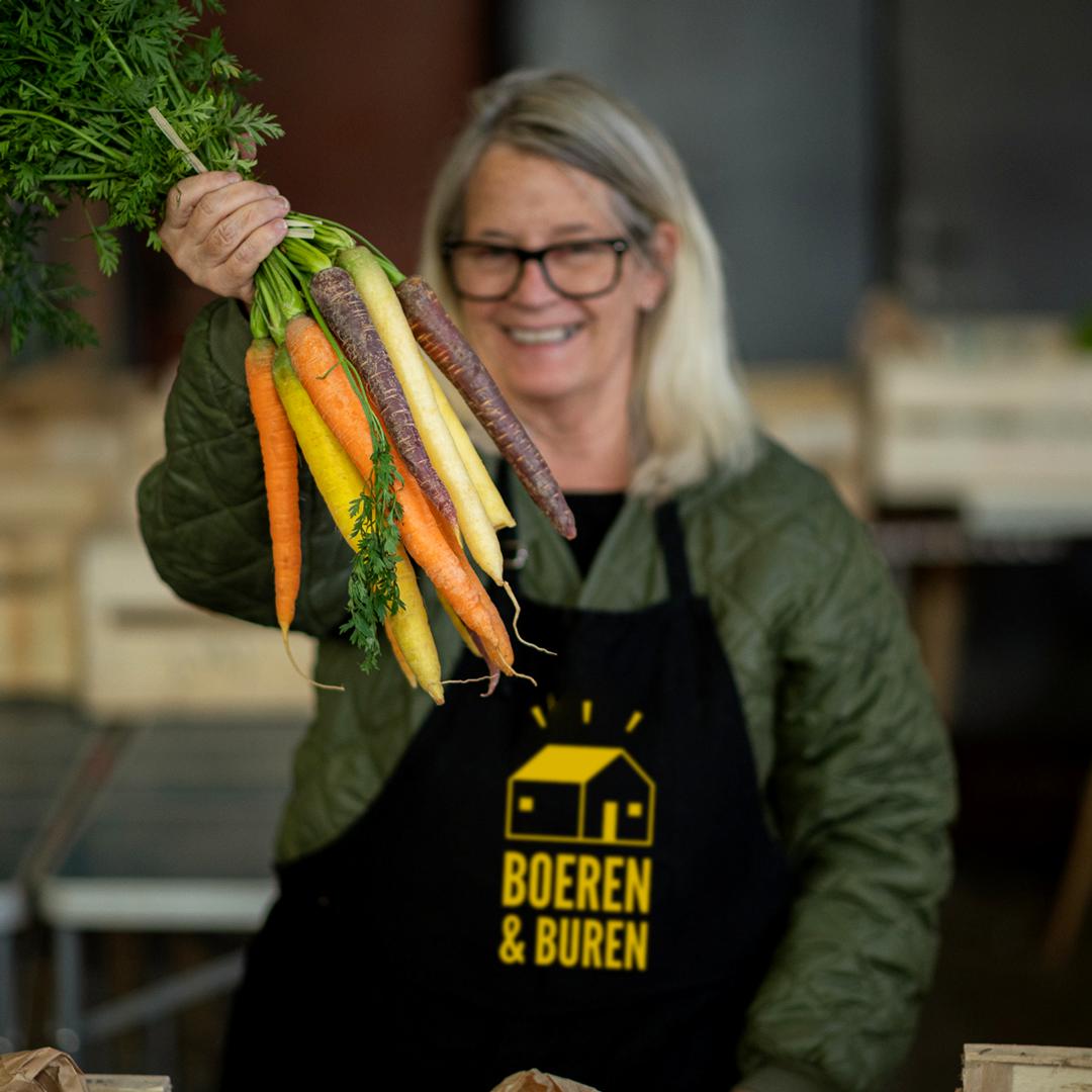 Foto Buurderij wortels
